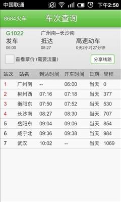8684火车查询(电话抢票)截图2
