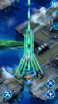 超级雷电2,一款飞行射击游戏,场面非常恢弘,爆炸的效果,必杀的效果
