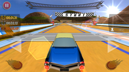 复古未来赛车无限金币修改版截图1