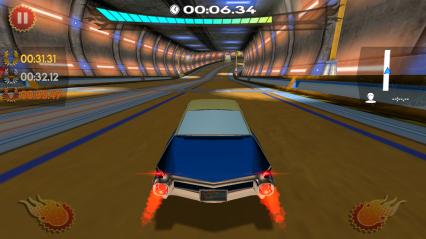 复古未来赛车无限金币修改版截图2