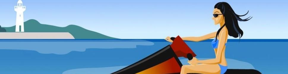 各位有没有在海边玩过摩托艇呢?还是你有在别的地方玩过摩托艇?