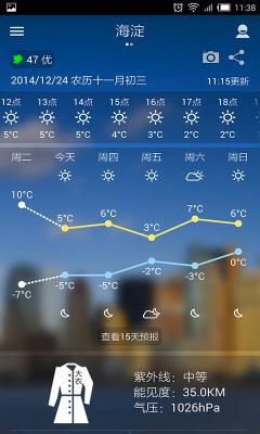 中国天气通(chinaweather)截图0