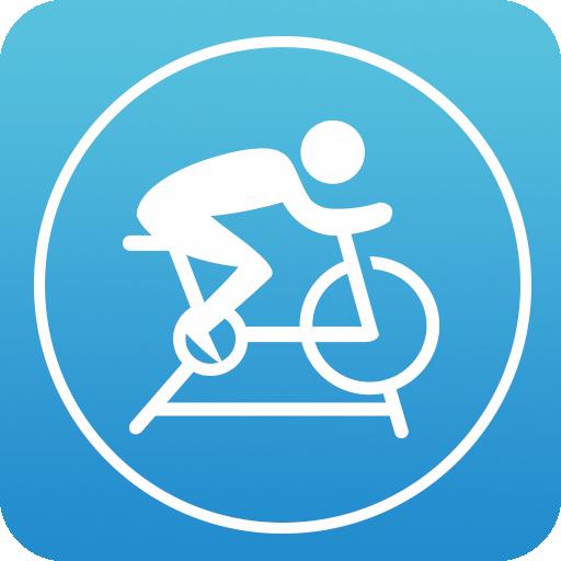 app小图标矢量图自行车打气