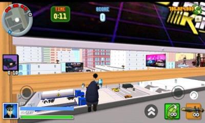 圣安地列斯愤怒的警察3D城市(双摇杆射击)Angry Cop 3d City Frenzy截图4