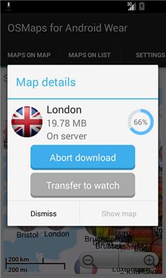 osmaps手表地图