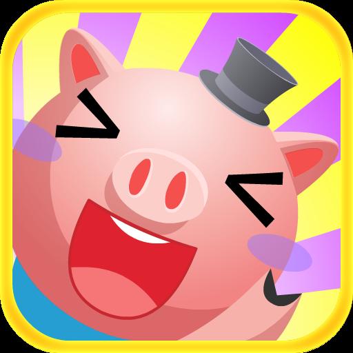 呆萌可爱小猪猪头像