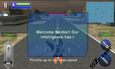 游戏 射击 → 战斗机攻击3d(飞机射击)