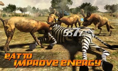 3d野狗模拟器(动物模拟)wild dog simulator 3d