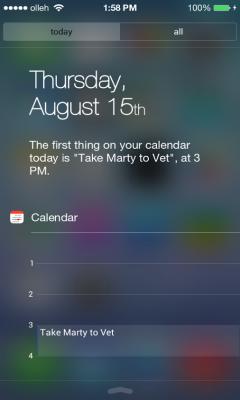 iOS式状态栏(iNoty)截图0