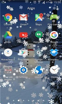 手机动态下雪壁纸(下雪动态图)截图1