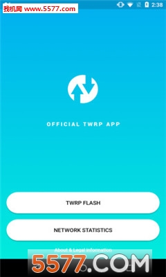 Official TWRP(TeamWin Recovery Project)截�D1
