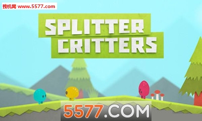 空间切割安卓版(Splitter Critters)截图0