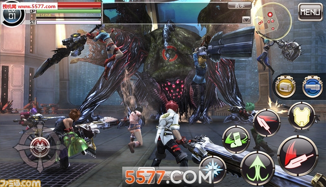 噬神者Online(噬神者系列手机新作)God Eater Online截图1