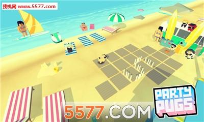 聚会哈巴狗:沙滩谜题Go安卓版Party Pugs: Beach Puzzle GO截图2