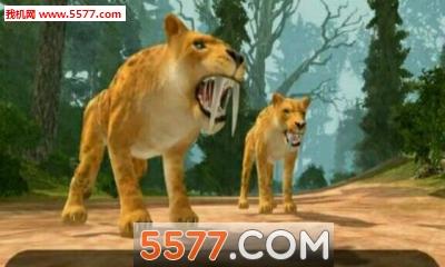 剑齿虎的生活3D(动物模拟)Life of Sabertooth Tiger 3D截图0