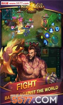 英雄血战(全球同服MOBA)Heroes Arena截图1