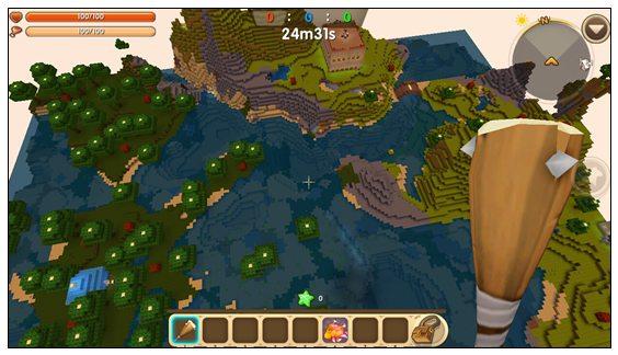迷你世界小游戏女生别墅设计图展示