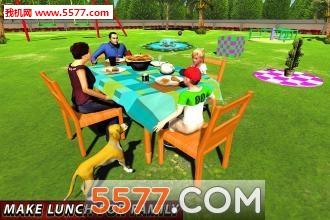 虚拟妈妈幸福的家庭3d截图0