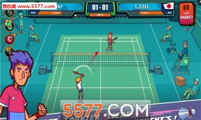 超级羽毛球手(联机对战)截图2