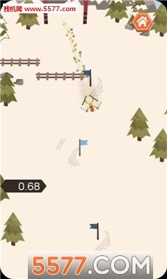滑雪下山安卓版截图2