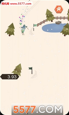 滑雪下山安卓版截图0