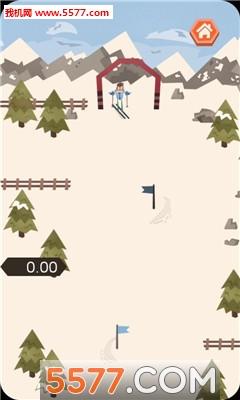 滑雪下山安卓版截图1