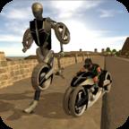 变形摩托机器人(双摇杆射击)robot moto revengev1.0安卓版