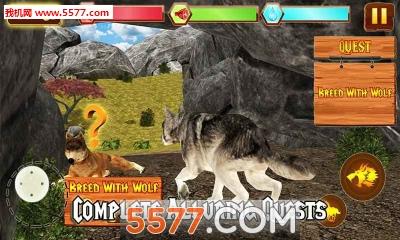 野狼冒险模拟器Wild Wolf Adventure Simulator(野狼生存)截图2
