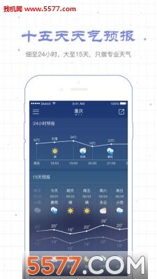 十五天天气预报查询app截图0