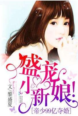 该小说的名字叫做《帝少99亿夺婚:盛宠,小新娘》.