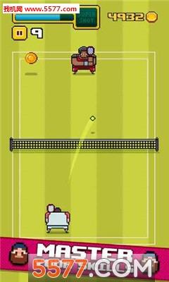 像素网球(本地多人联机)timber tennis截图0