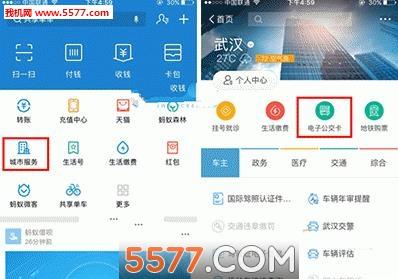 支付宝电子公交卡武汉版app定制化开发
