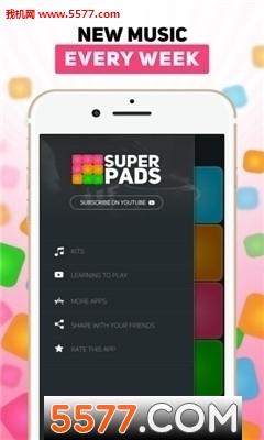 SuperPads Bum Bum Tam Tam数字教程谱子下载截图0
