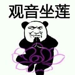 熊猫人降龙十八掌表情包图片