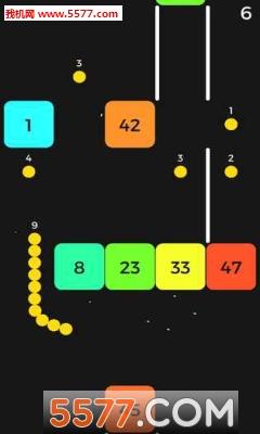 抖音贪吃蛇遇上打方块游戏截图1