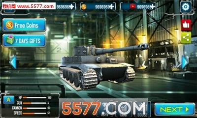 3D霹雳坦克无限金币钻石版截图0