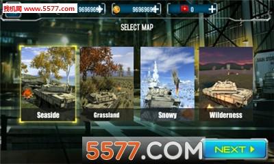3D霹雳坦克无限金币钻石版截图2