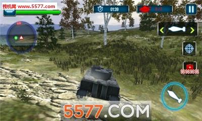 3D霹雳坦克无限金币钻石版截图1