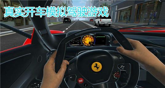 手机真实驾驶模拟游戏_真实开车模拟驾驶游戏