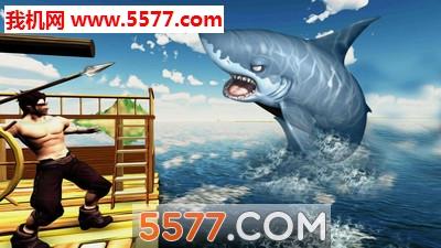 鲸鲨猎人木筏求生安卓版截图2