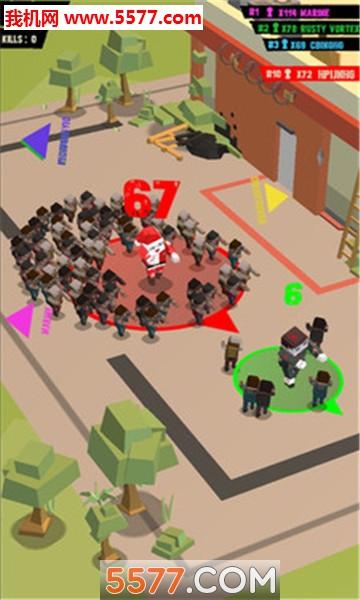 拥挤城市感染版游戏