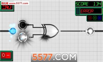点亮灯泡. 电路图是一种基于数字逻辑图的快节奏益智游戏.