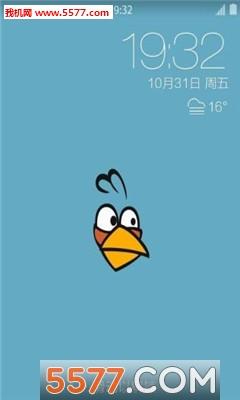 愤怒的小鸟舔屏动态壁纸