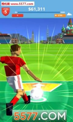 抖音足球踢上天的游戏截图2