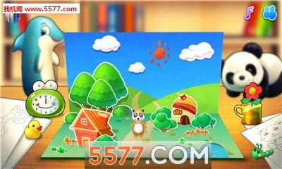 练习语言技能 【游戏介绍】 在动物乐园游戏中,宝宝乐于去发现藏起来