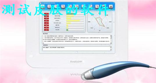 测试皮肤的软件