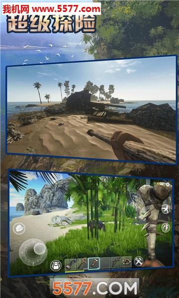 超级探险荒岛求生游戏截图2