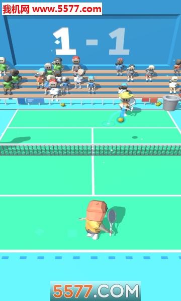 �W球大作��(Tennis Tourney)�O果版截�D0