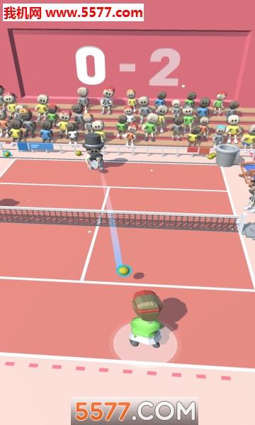 �W球大作��(Tennis Tourney)�O果版截�D1
