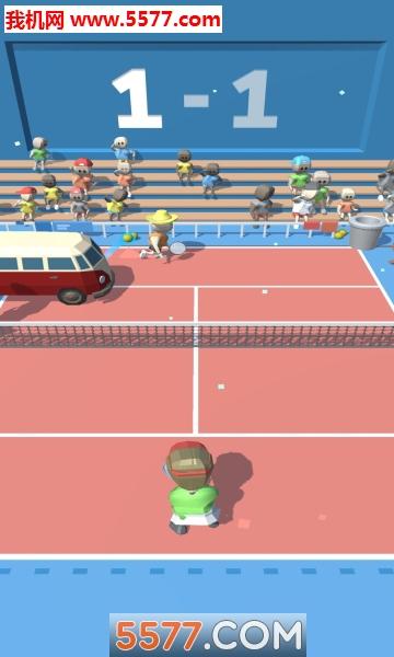 �W球大作��(Tennis Tourney)�O果版截�D2